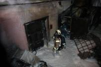 ÇEKIM - Kozmetik Fabrikasında Korkutan Yangın