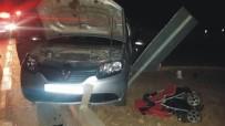 Sorgun'da İki Otomobil Çarpıştı Açıklaması 6 Yaralı