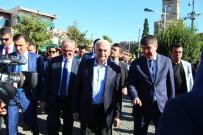 KAZIM ÖZALP - TBMM Başkanı Yıldırım'dan Esnaf Ziyareti