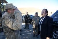 Vali Pehlivan, Demirözü Jandarma Kontrol Noktasını Ziyaret Etti