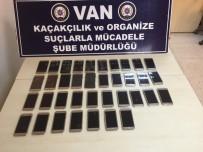 AKILLI CEP TELEFONU - Van'da 37 Adet Kaçak Cep Telefonu Ele Geçirildi