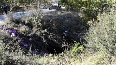 Burdur'da Traktör Devrildi Açıklaması 1 Ölü, 2 Yaralı