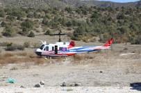 HATALı SOLLAMA - Çankırı'da Helikopter Destekli Trafik Uygulaması