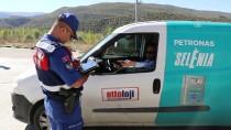 Çankırı'da Jandarmadan Havadan Trafik Denetimi