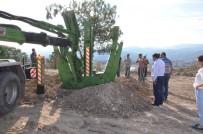 MUSTAFA KOCA - Emet Belediyesi'nden Ağaçlandırma Çalışmaları