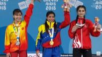 TAŞPıNAR - Gençlik Olimpiyatları'nda ilk madalya geldi