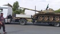 REJİM KARŞITI - İdlib'de ağır silahların çekilmesi tamamlandı
