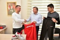 AMATÖR KÜME - İnönü Belediyesi Amatör Spor Kulüplere Malzeme Desteği Geleneğini Sürdürdü