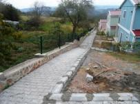 KOZLUCA - İzmit Belediyesi Yol Çalışmalarını Sürdürüyor
