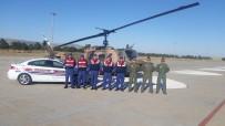 YAKIN TAKİP - Jandarma Havadan Trafik Denetimi Yaptı