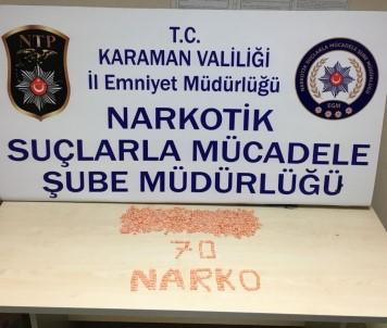 Karaman'da Uyuşturucu Hap Satan Şahıs Tutuklandı