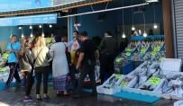 SOĞUK HAVA DEPOSU - Kırıkkale'de Balıkçılar Çarşısına Yoğun İlgi