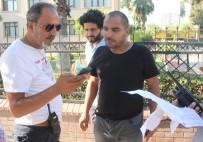 GÜVENLİKÇİ - MİT'i Sorup Kaçan Şahıs Polisi Alarma Geçirdi