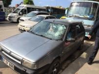 YOLCU TAŞIMACILIĞI - Otopark Kavgasında Silahlar Konuştu