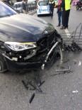 KADIN SÜRÜCÜ - (Özel) Beşiktaş'ta Feci Kaza Açıklaması 2 Yaralı