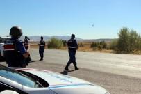 HATALı SOLLAMA - (Özel) Jandarmadan Helikopter Destekli Trafik Denetimi
