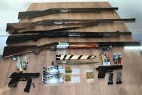 Silah Kaçakçılığı Operasyonunda 11 Gözaltı