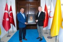 SİVAS VALİSİ - Sivas Valisi Gül'den Başkan Gürkan'a Ziyaret
