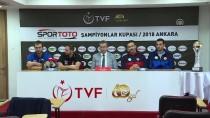 ZIRAAT BANKASı - Voleybol Açıklaması Spor Toto Erkekler Şampiyonlar Kupası