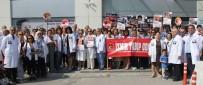 SAĞLIK ÇALIŞANI - 100'Ün Üzerinde Doktordan Ortak Tepki Açıklaması 'Sağlıkta Şiddeti Durdurun'
