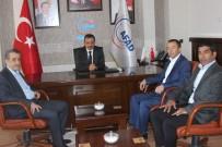KADİR ÇELİK - AFAD-Sen Genel Başkanı Ayhan Çelik Erzincan'da