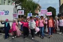 SAYıLAR - Artvin'de Kadınlar Meme Kanseri İçin Yürüdü