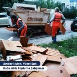 AVCILAR BELEDİYESİ - Avcılar'da 7/24 Temizlikle Sokaklar Pırıl Pırıl