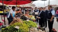 PAZARCI - Başkan Cabbar, Pazar Ve Marketlerde Denetim Yaptı