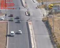 Burdur'da Drone İle Trafik Denetimi
