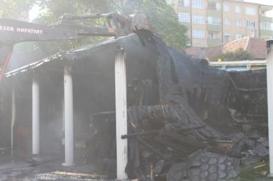 Çankırı'yı Korkutan Yangın