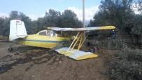 ZEYTINLIK - Edremit'te Uçak Düştü