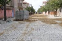 GIRNE - Ergene'de Girne Caddesi Parke Taş Oldu