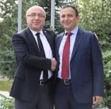 BOZOK ÜNIVERSITESI - ERÜ Rektörü Çalış, Kayseri Üniversitesi Rektörü Karamustafa'yı Ziyaret Etti