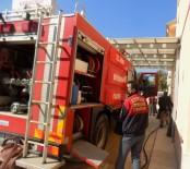 YANGIN TATBİKATI - Karacasu'da Yangın Tatbikatı Yapıldı
