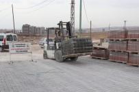 SEYRANTEPE - Karaköprü'de Yol Yapım Çalışmaları Sürüyor
