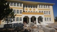 Kırka Atatürk İlkokulu Yeni Binası Hızlı Yükseliyor