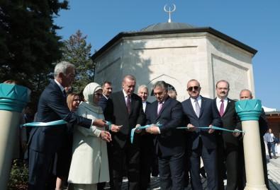 Erdoğan Macaristan'da Gül Baba Türbesi'ni açtı