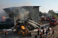 ÇAYLı - Muğla'da Depo Yangını