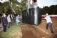 KıNıKLı - PAÜ'de Çöpler Yer Altına Alınıyor