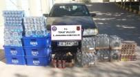 ALKOLLÜ İÇECEK - Reşadiye'de Bir Evden 587 Adet Alkollü İçki Çıktı