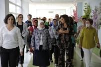 SEMİHA YILDIRIM - Semiha Yıldırım Ve Meclis Başkanlarının Eşleri Engelli Rehabilitasyon Merkezini Ziyaret Etti