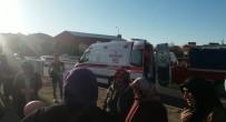 HITIT ÜNIVERSITESI - Sungurlu'da Trafik Kazası Açıklaması 1 Yaralı