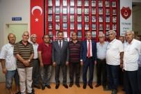 EMEKLİ ASTSUBAYLAR DERNEĞİ - Tuna Açıklaması 'Mersin'in Kalkınması Adına Faaliyet Gösteren Oluşumların Her Zaman Yanında Olduk'