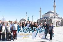 HACI BEKTAŞ-I VELİ - Tuncelili Gazi Ve Şehit Aileleri, Nevşehir İle Konya'yı Gezdi