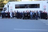 AK Parti Kadın Kolları Kan Bağışında Bulundu