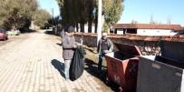 Aslanapa'da Konteyner Temizliği