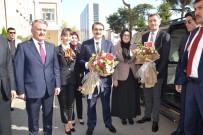 Ziya Selçuk - Bakanlar, Vali Yazıcı'yı Ziyaret Etti