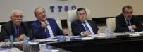 Başkan Gümrükçüoğlu, TTSO Yönetim Kurulu'nu Bilgilendirdi