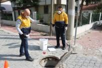 Bolu'da, Kanalizasyon Hatları İlaçlanıyor