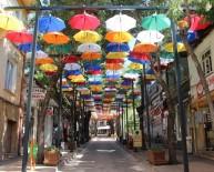 Çankırı'da 'Şemsiyeli Sokaklar'
